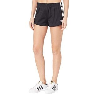 Adidas short classic black with white stripes